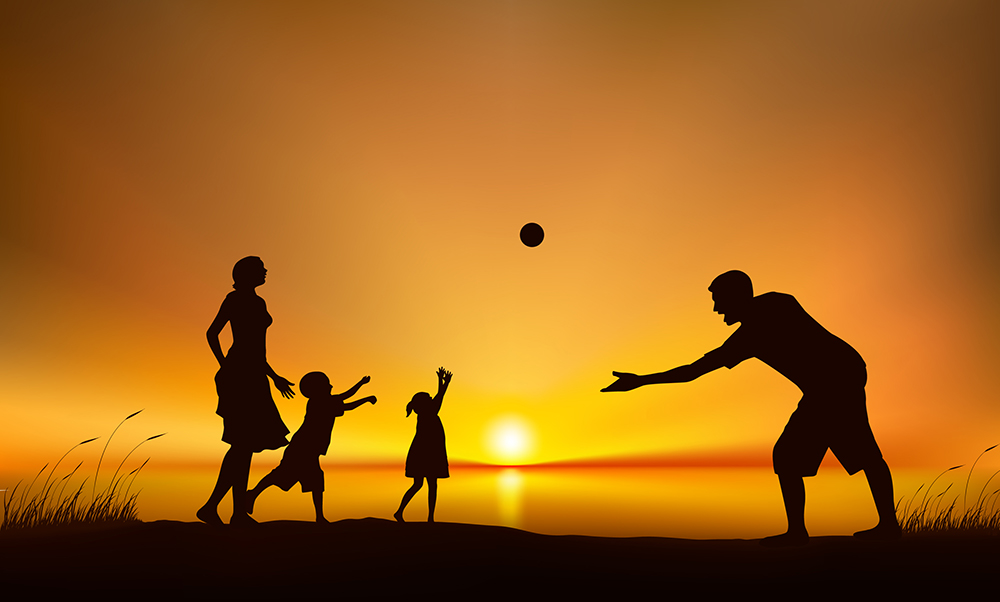 family-playing